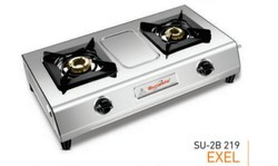 Sun Safe Double Burner Gas Stove SU 2B-219