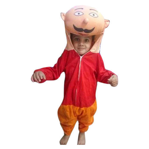Plain Motu Patlu Cartoon Costumes