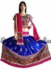 Gujarati Embroidered Chaniya Choli