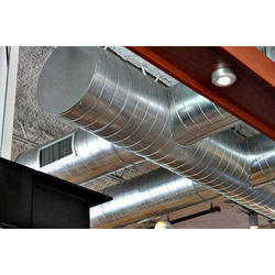 Industrial Aluminium Exhaust Duct