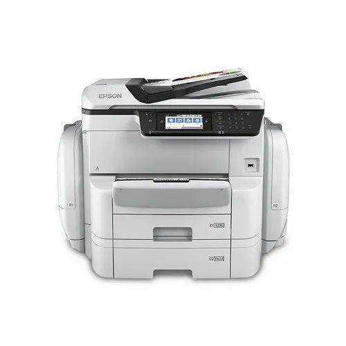 Workforce Pro Wf C869r Network Multifunction Color Printer