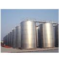 Sliver Oil And Diesel Storage Tank