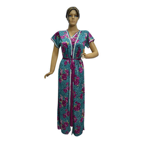 Two Piece Nighty At Rs 485 Piece Ladies Night Dress Id 14761962988