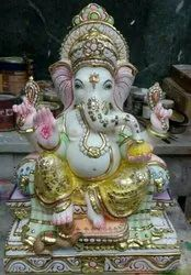 Exclusive Ganesh Marble Statue