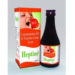 Cyproheptadine Lysine And Vitamins Syrup, For Personal, Packaging Type: Bottle
