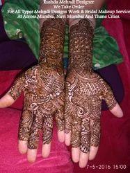 Rushda Mehndi Designer Service Provider Of Bridal Mehndi