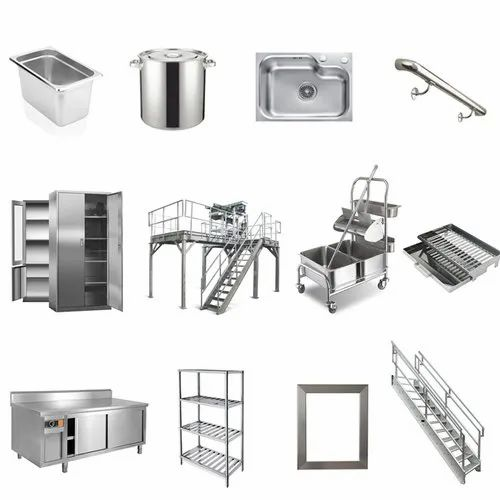 Steel Fabrication Services: Stainless Steel Fabrication Services At Rs 1000/nos