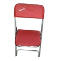 Stainless Steel Red Folding Chairs, For Event