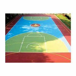 Basketball Outdoor Court Flooring