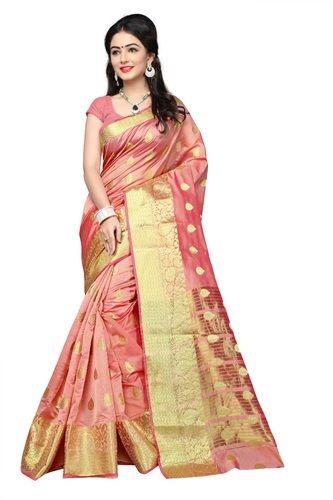 520f61d55ce2c Cotton Silk Saree - Pure Cotton Silk Kanjivaram Saree Manufacturer from  Surat