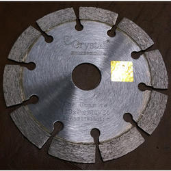 Crystal Diamond 4 Inch Granite Cutting Blade, For Garage/Workshop, Size: 110mm*10*10*20