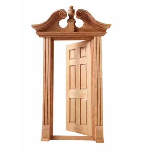Door Frame Decoration wooden door frame - stylish wooden door frame manufacturer from pune