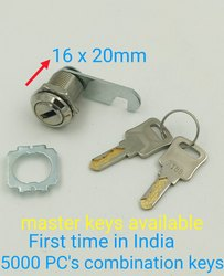Prince polo Brass Camlock, Chrome, Packaging Size: 30 - 50