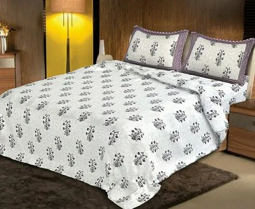 Universal Traders Printed Pg Double Bed, What Size Is A Double Bed Sheet In Inches