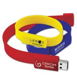 Regular Wristband Pen Drive