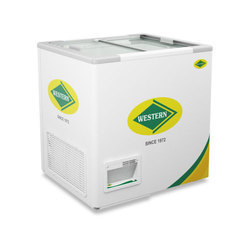 WHF225G Glass Top Deep Freezer