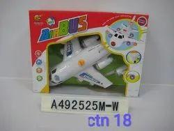 Airbus Airplane Plastic Toy