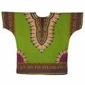 Printed Cotton Dashiki Shirt