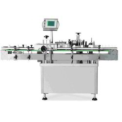 Vertical Sticker Labeling Machine