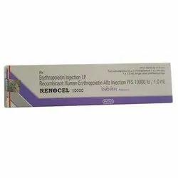 Renocel 10000IU 1.0ML Inj Erythropoietin