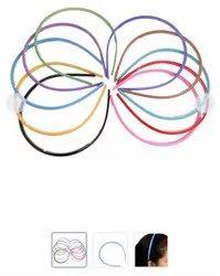 Regular Plain Hair Bands For Girls