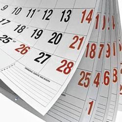 English Calendar Printing Service, For Office, in Local