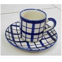 Hand Crafted Cup and Saucer