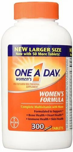 One A Day Women's Multivitamin, 300 Tablets, वन वन डे