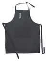 Black Plain Kitchen Apron