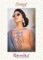 Romika Print Somya Vol-16 Printed Cotton Dress Material Catalog Collection