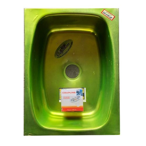 Captain Stainless Steel Single Bowl Kitchen Sink 24 X 18 X 8 Inch Rs 1250 Piece Id 22191893088