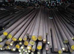 Stainless Steel Black Round Bar for Construction, Length: 3 & 6 m