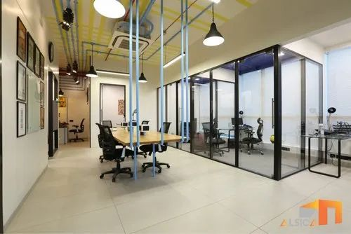 Demountable Glass Partition