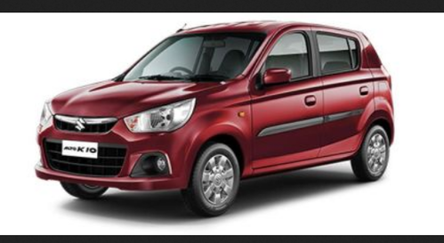 Maruti Alto K10 Fire Brick Red Cars