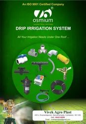 Osmium products drip irrigation lateral pipe and fittings