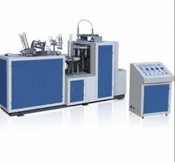 3 Phase Semi Automatic Paper Cup Making Machine, Cup Size: 100-200 ml