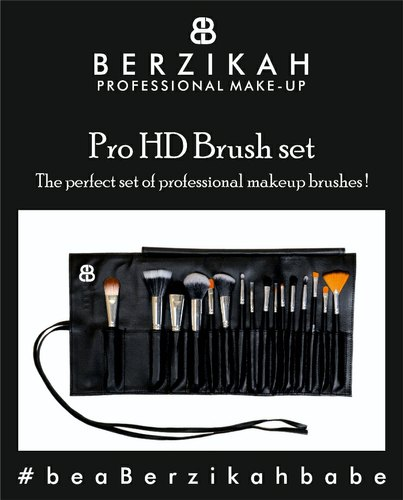 Pro Hd Makeup Brush Set For Beauty