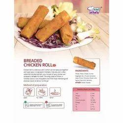 Frozen Breaded Chicken Roll