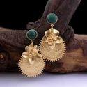 Women Onyx Gemstone Earring