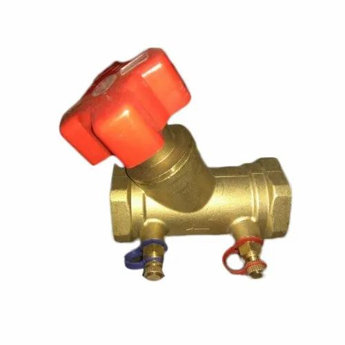 Balancing Valve, Size: 1/2 Inch To 8 Inch