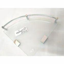 Triangle Corner Glass Shelf, Packaging Type: Box