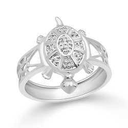 Kachua Silver Ring