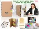 Eco Sticky Note Pad With Memo Pad H-820