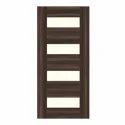 Brown, Cream Wood Classic Home Laminate Door