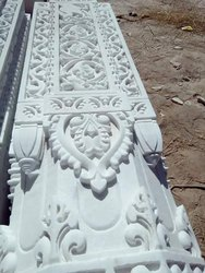 White Marble Pillar Craving Service