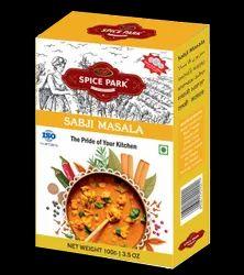 Spice Park Branded Masale ( Sabji Masala), Packaging Size: 100 g, Packaging Type: Packet