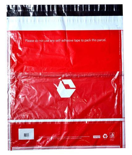 Red Snapdeal Printed Courier Bags, Size: 6x8-18x22