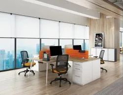 Workstation L 4 Seater