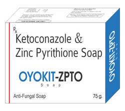 Ketoconazole IP 1% w/w ZincPyrithione IP 1% w/w
