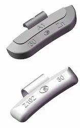 Clip Type Weight - Zinc
